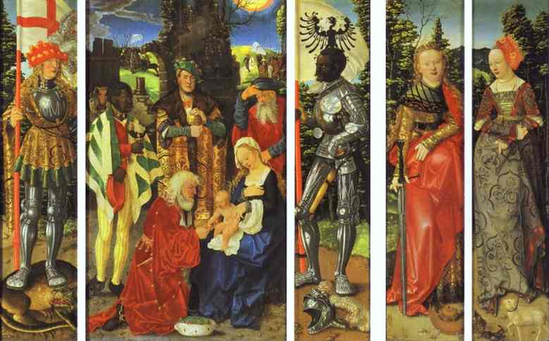 Three Kings. Hans Baldung Grien