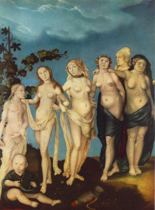 The Seven Ages Of Woman. Hans Baldung Grien