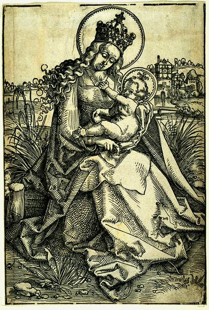 madonna-child. Hans Baldung Grien