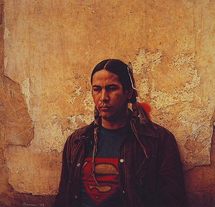 A Sioux Indian. James E Bama