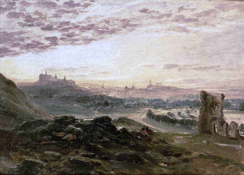 A Panoramic View of Edinburgh. Samuel Bough