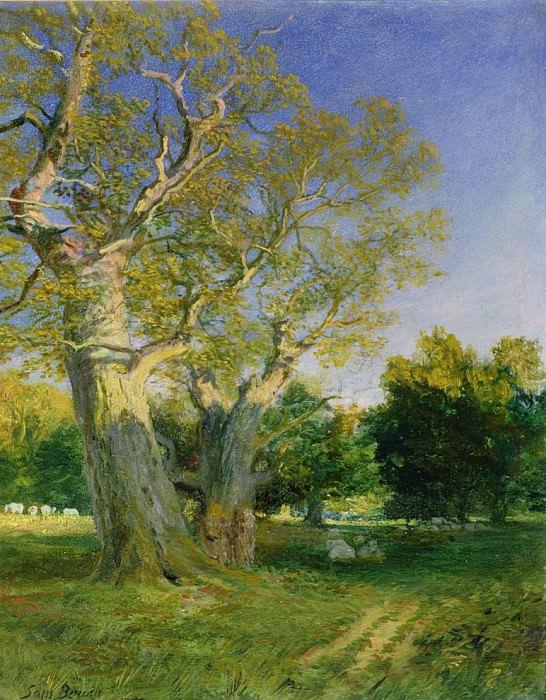Summer Evening Cadzow. Samuel Bough