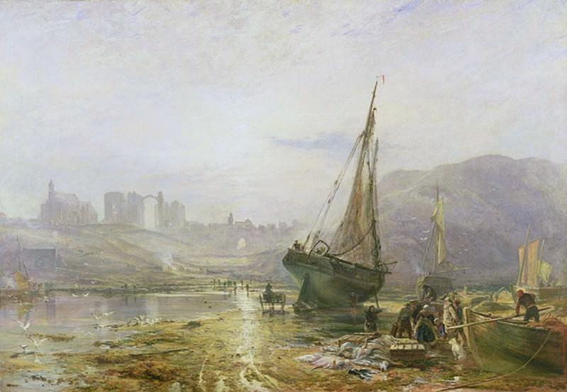 Holy Island: Lindisfarne. Samuel Bough