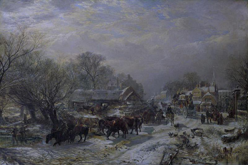 The Mail Coach. Samuel Bough