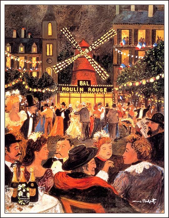 Moulin Rouge. Guy Buffet