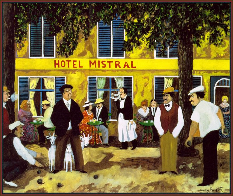 Hotel Mistral. Guy Buffet