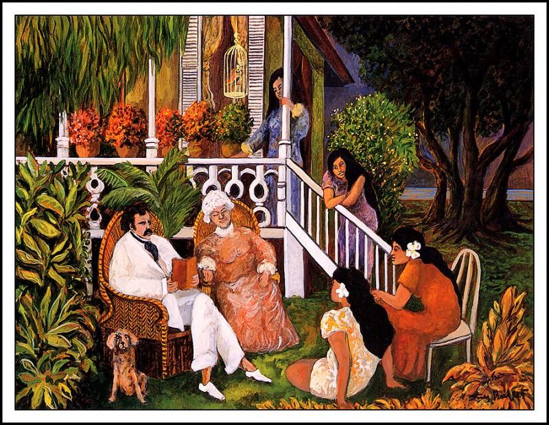 Марк Твен на Гавайях. Ги Бюффе
