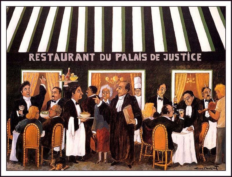 Restaurant Du Palais De Justice. Guy Buffet