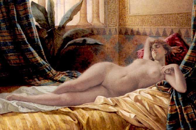 Лежащая. Франческо Баллесио