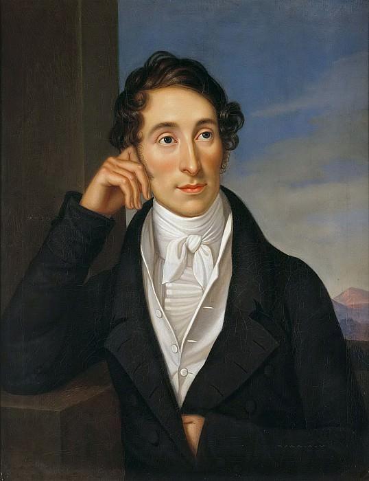 The Composer Carl Maria von Weber. Caroline Bardua