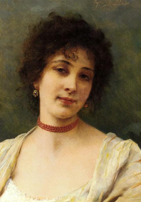 An Elegant Lady. Eugene De Blaas