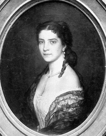 Baroness von Scholl. Eugene De Blaas