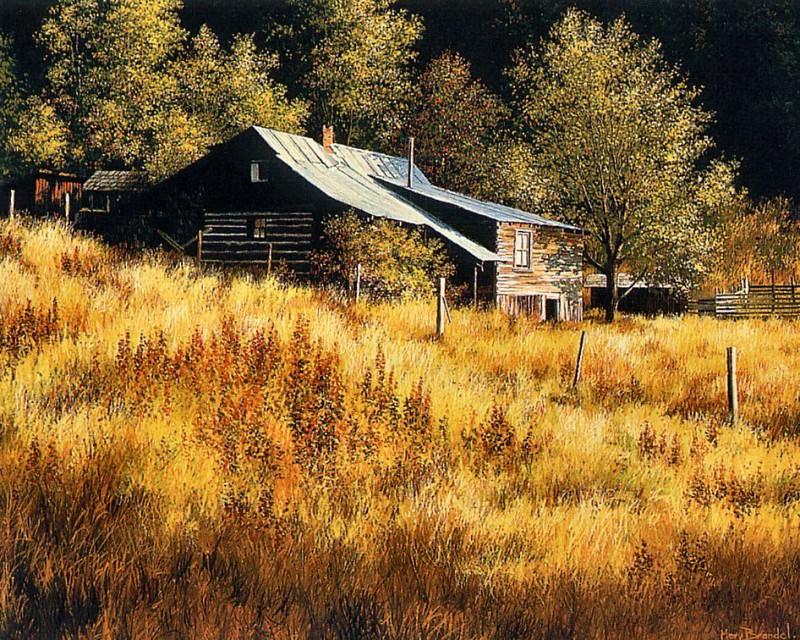 Slocan Farmhouse. Mervin Brandel