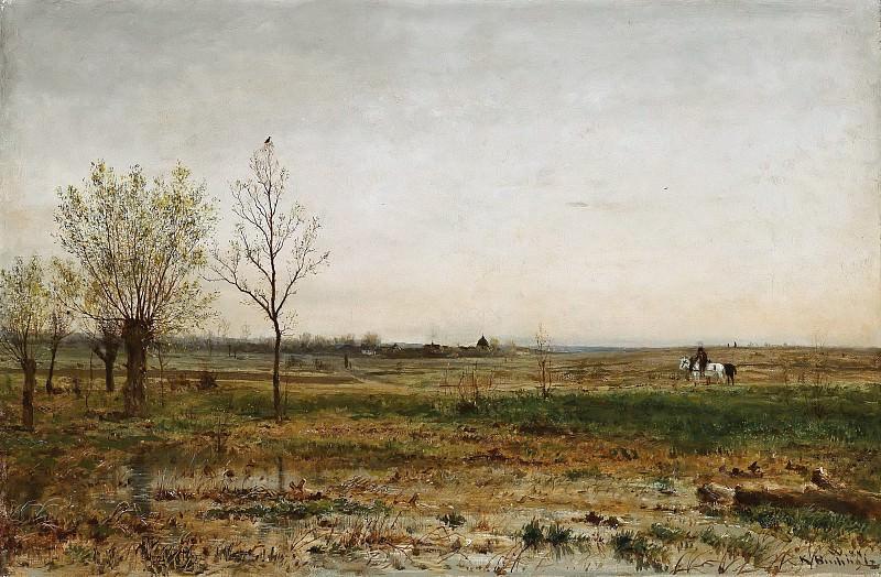 Пейзаж. Карл Буххольц
