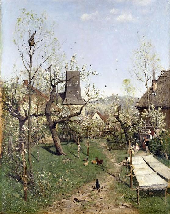 Spring in Oberweimar. Karl Buchholz