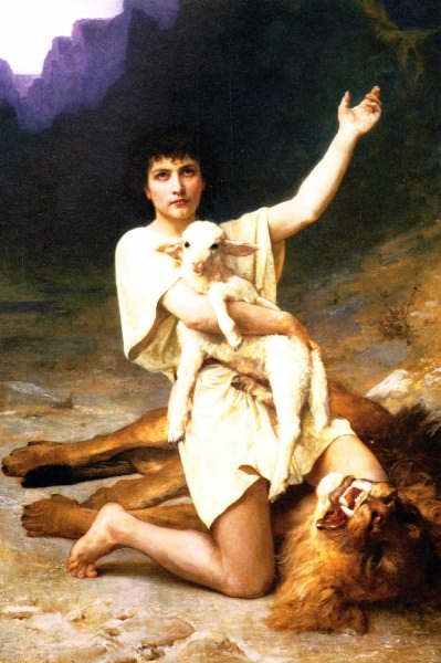 The Shepard David. Elizabeth Jane Gardner (Bouguereau)