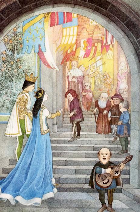 Snow White #12. Nancy Ekholm Burkert