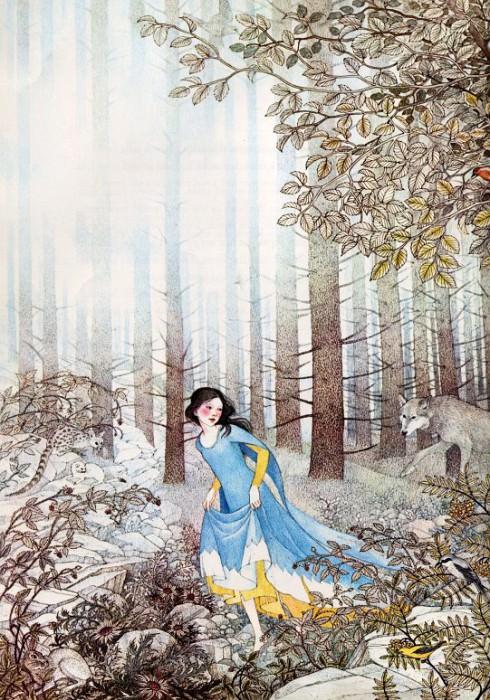Snow White #02. Nancy Ekholm Burkert