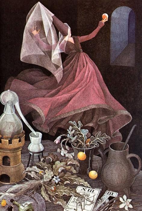 Snow White. Nancy Ekholm Burkert