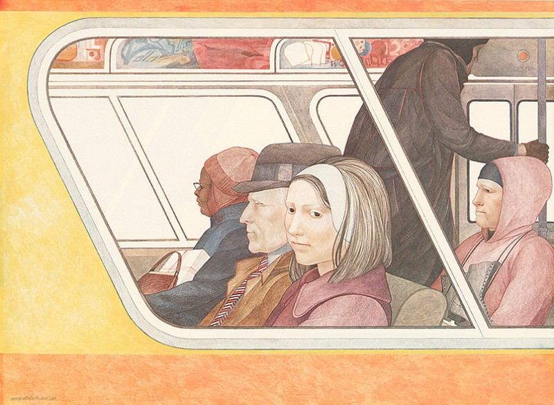 Passengers. Nancy Ekholm Burkert