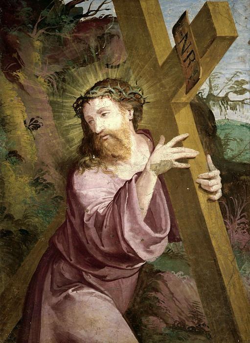 Христос, несущий крест. Бергамаско (Джованни Баттиста Кастелло)