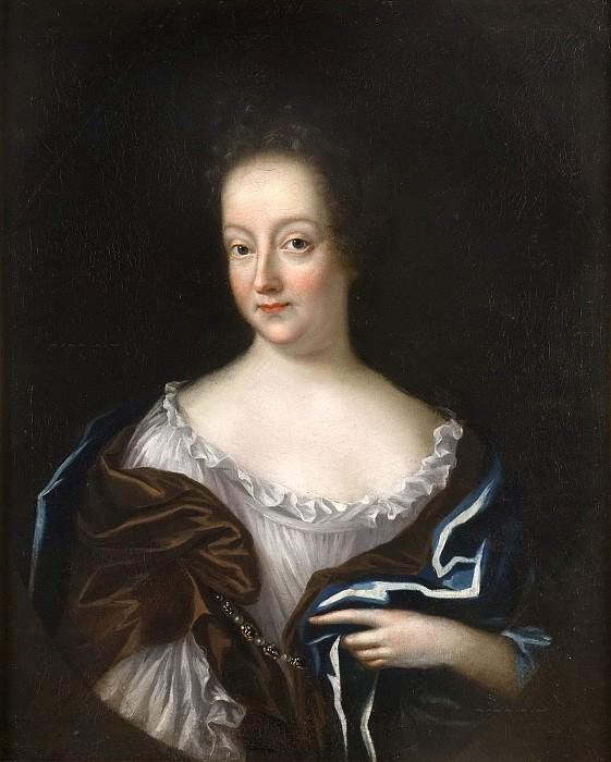 Beata Elisabet von Königsmarck (1637-1723), Countess, married to Count Pontus Fredrik De la Gardie. Lukas von Breda the Elder