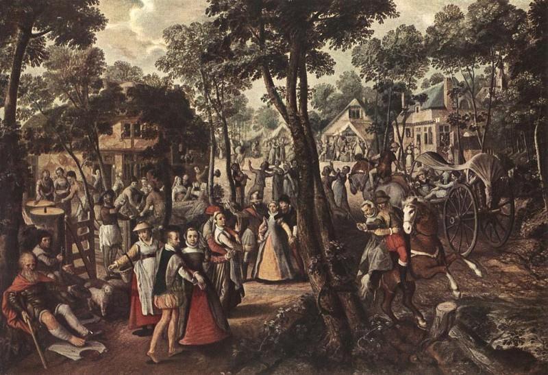 Village Feast. Joachim Beuckelaer