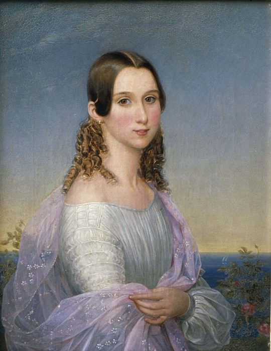 Eugénie (1830-1889), Princess of Sweden and Norway. Nils Blommér