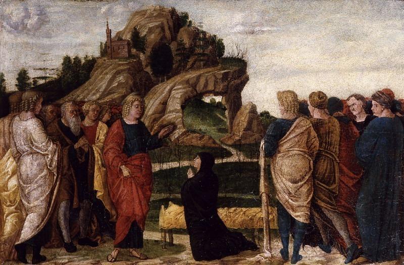 Святой Иоанн Богослов воскрешает Друсиану. Франческо Бонсиньори