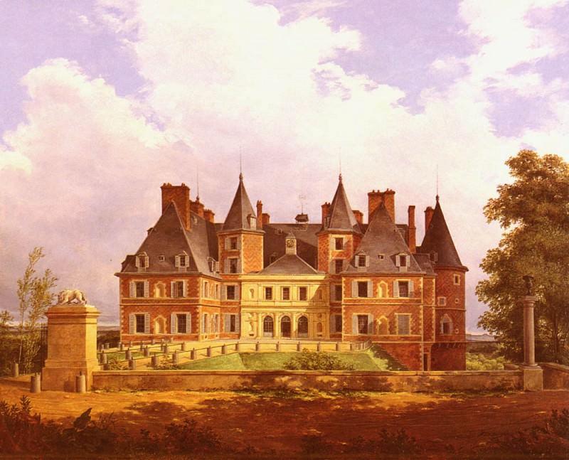 A French Chateau. Nicolas Alexandre Barbier