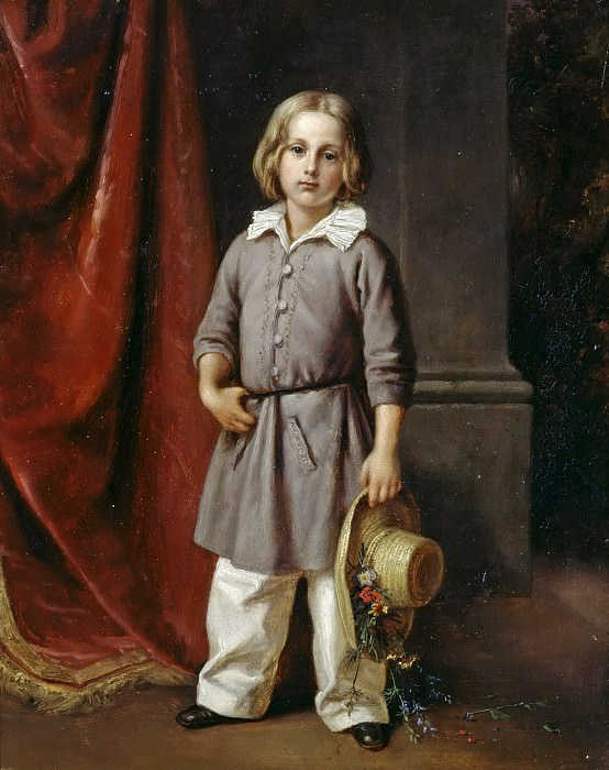 Karl Begas the Younger as a child. Karl Joseph Begas