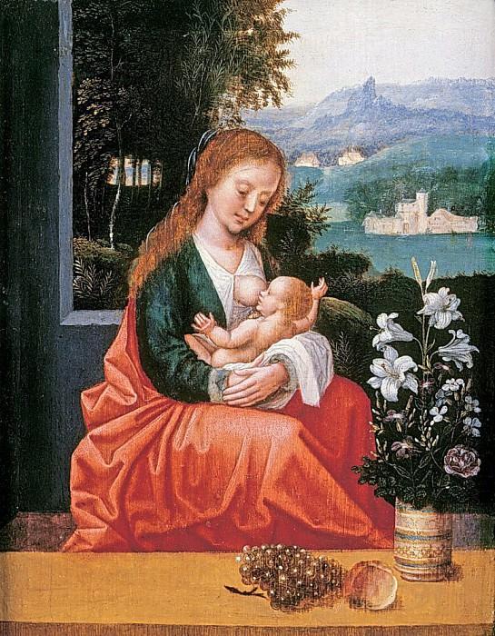 The Virgin and Child. Ambrosius Benson