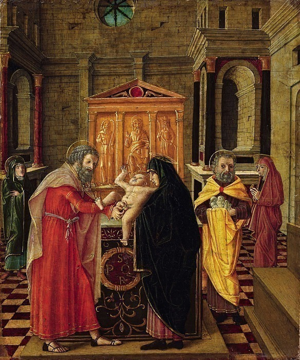 Обрезание Иисуса Христа. Бернардино Бутиноне
