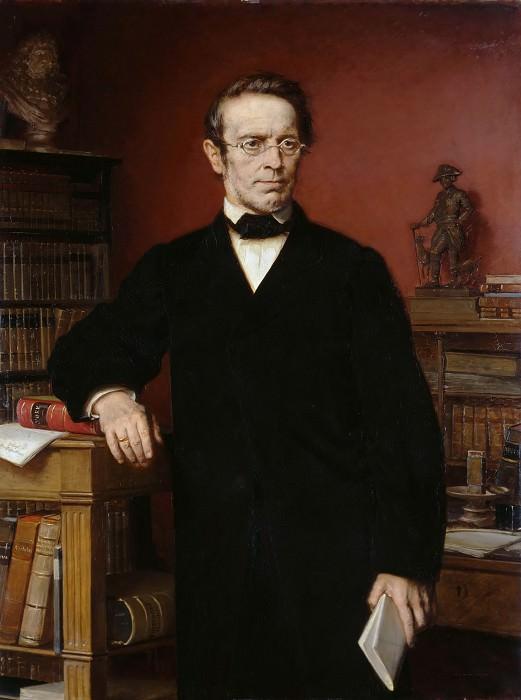 Portrait of Johann Gustav Droysen. Eduard Bendemann