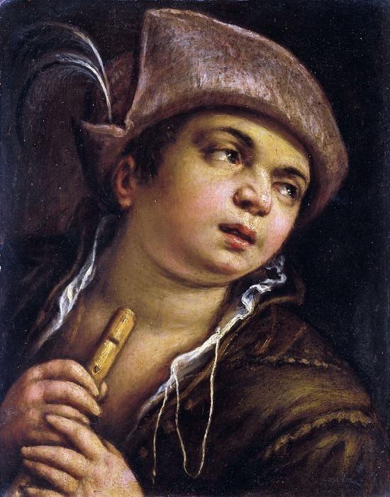 Пастух с флейтой. Франческо Бассано