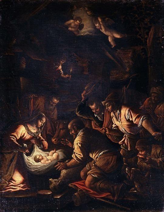 Поклонение пастырей. Франческо Бассано (школа)