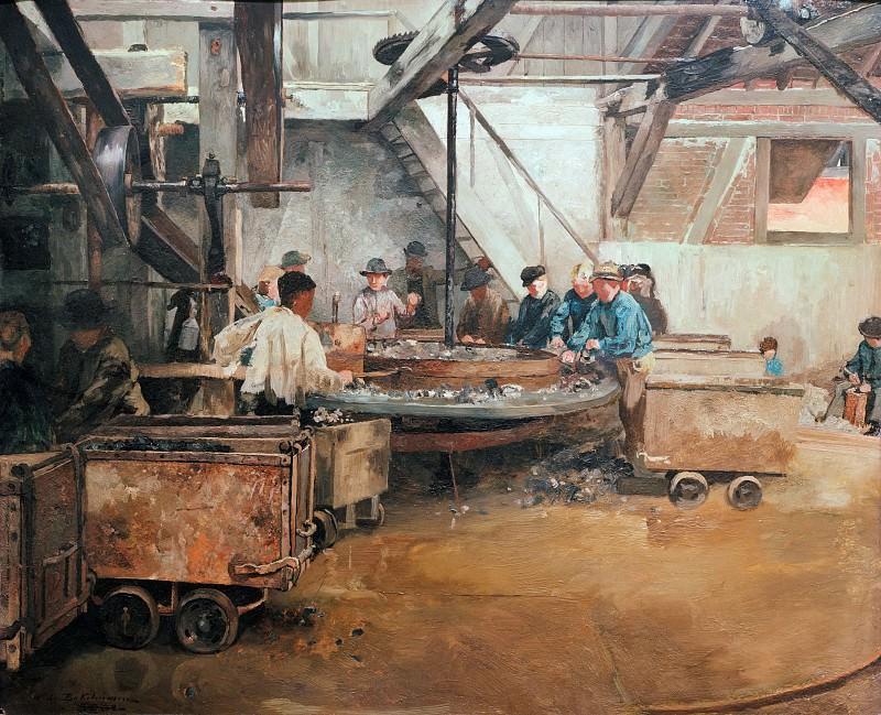 Свинцовый рудник в Зельбеке близ Кетвига. Кристиан Людвиг Бокельман
