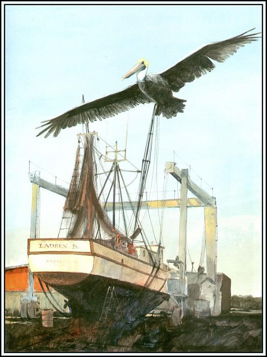 Коричневый пеликан 12. Роджер Бансмер