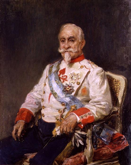 Retrato del Conde Guaki. Ignacio Pinazo Camarlench
