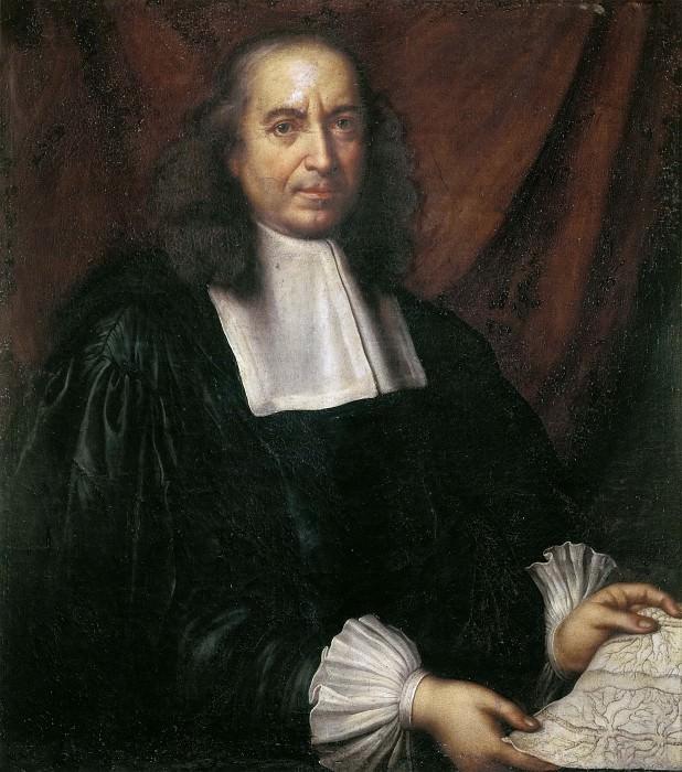 Portrait of Marcello Malpighi. Carlo Cignani