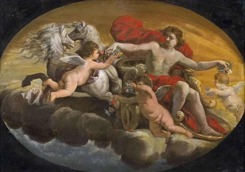Apollo. Carlo Cignani (School of)