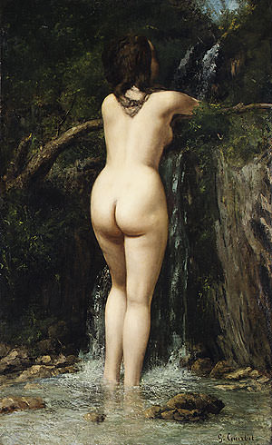 The Source. Gustave Courbet