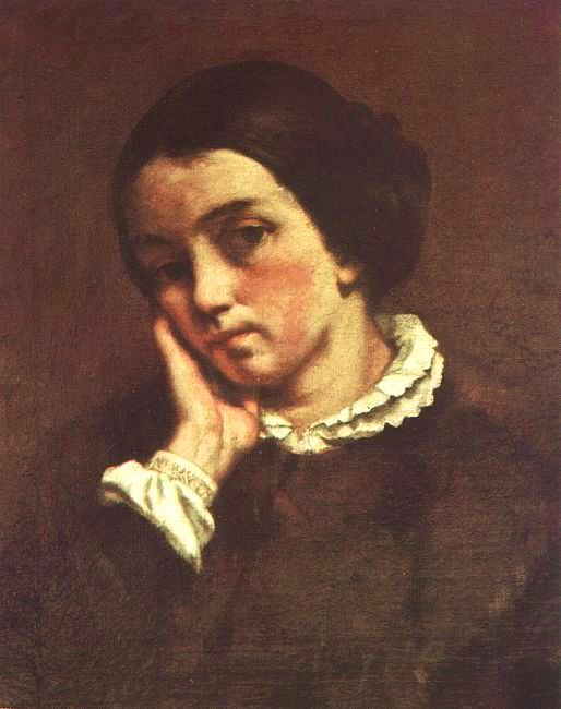 Juliette Courbet, 1874, oil on canvas, Museum of Art. Gustave Courbet