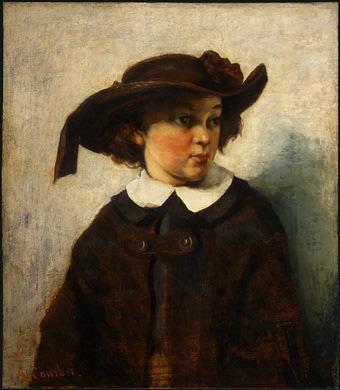 Портрет юной девушки, 1857. Гюстав Курбе