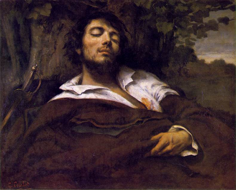 Portrait of the Artist, called The Wounded Man. Gustave Courbet