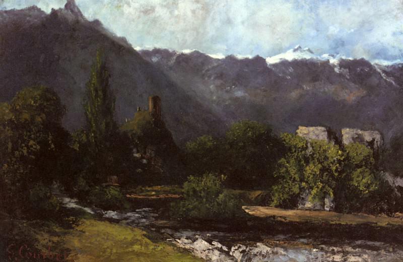 Le Glacier. Gustave Courbet