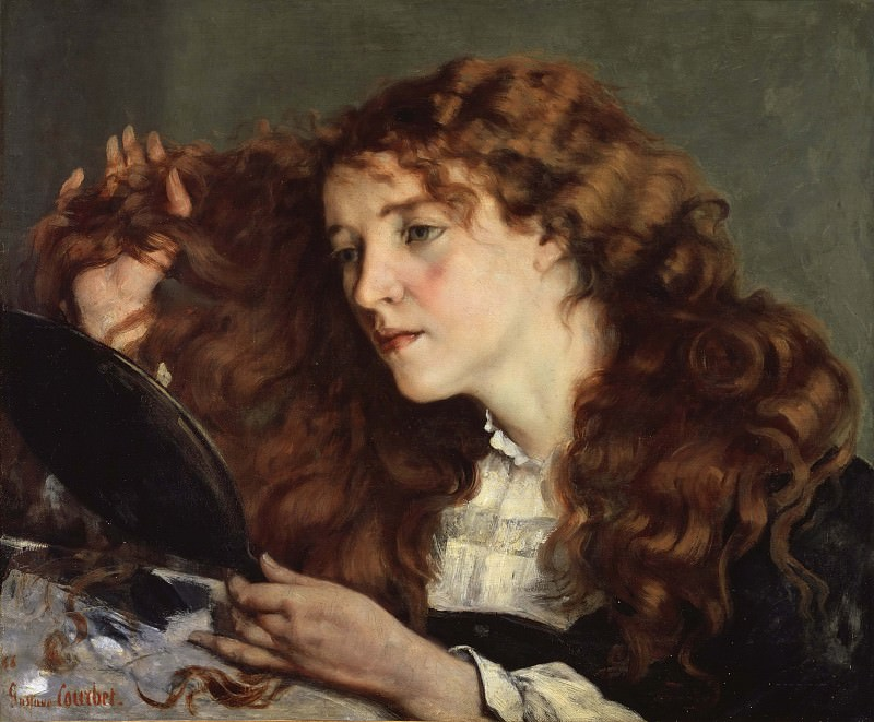 Jo, the Beautiful Irish Girl. Gustave Courbet
