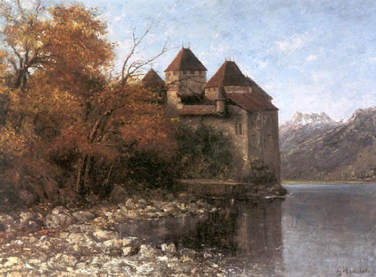 Chateau de Chillon. Gustave Courbet