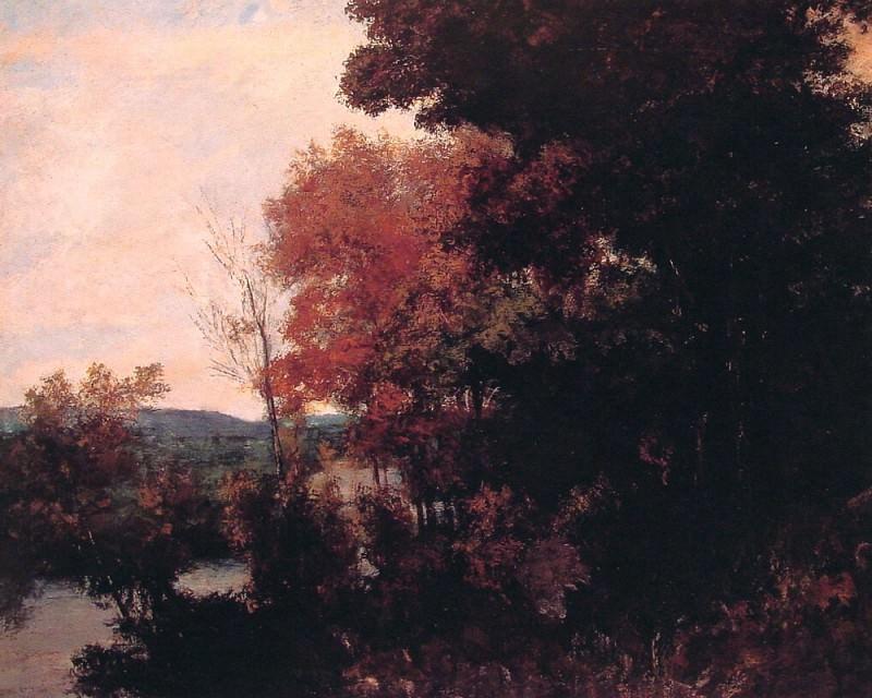 Lisiere de foret. Gustave Courbet