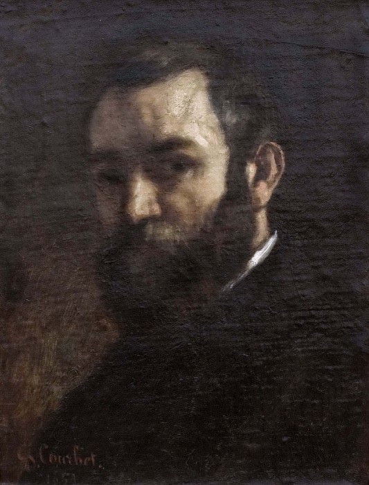 Portrait of a Man. Gustave Courbet